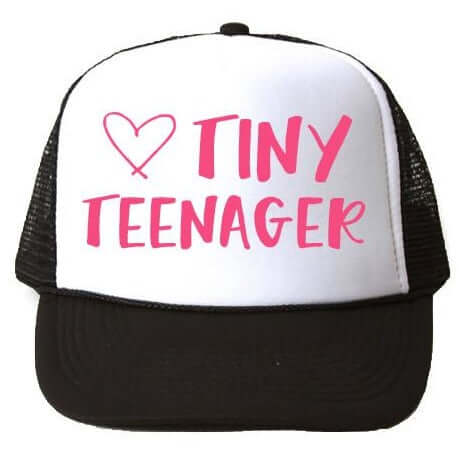 TINY TEENAGER TRUCKER HAT