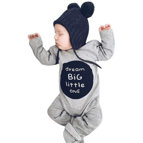 Dream Big cotton body suit