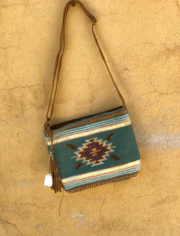 Navajo Border Carpet Crossbody