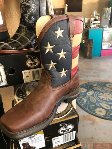 Youth American Flag Durango Boots BT245