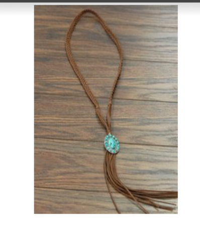 Beautiful Hand Braided Necklace