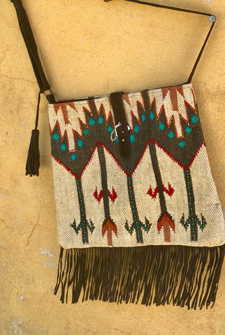 Santa Fe Carpet Bagger Crossbody