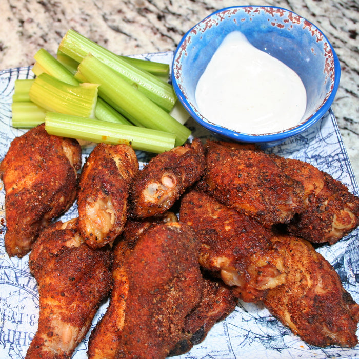 Spicy Low & Slow Chicken Wings