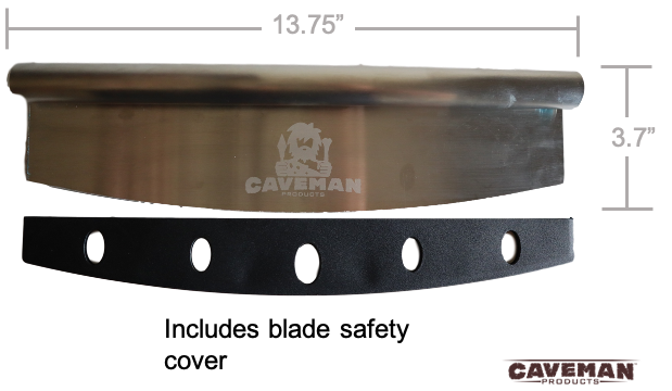 "14"" Pizza Cutter by Caveman Products 