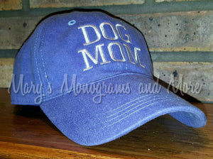 """Dog MOM"" Baseball Hat"