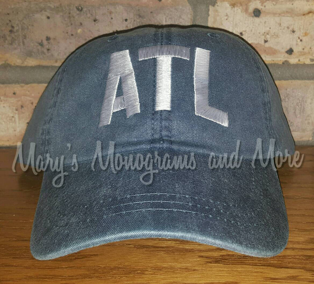 ATL Airport Code Baseball Hat