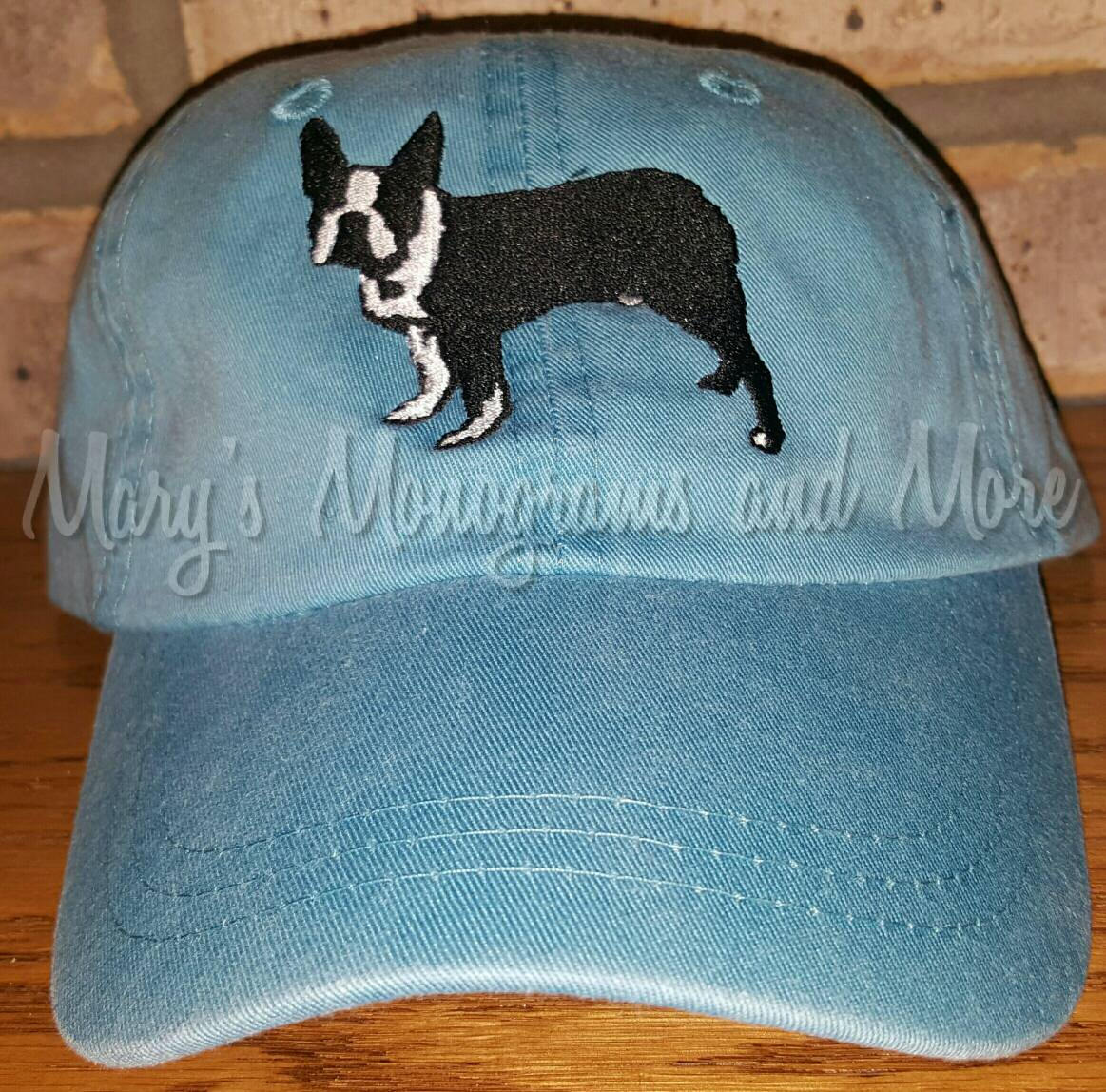 Boston Terrier Dog Baseball Hat