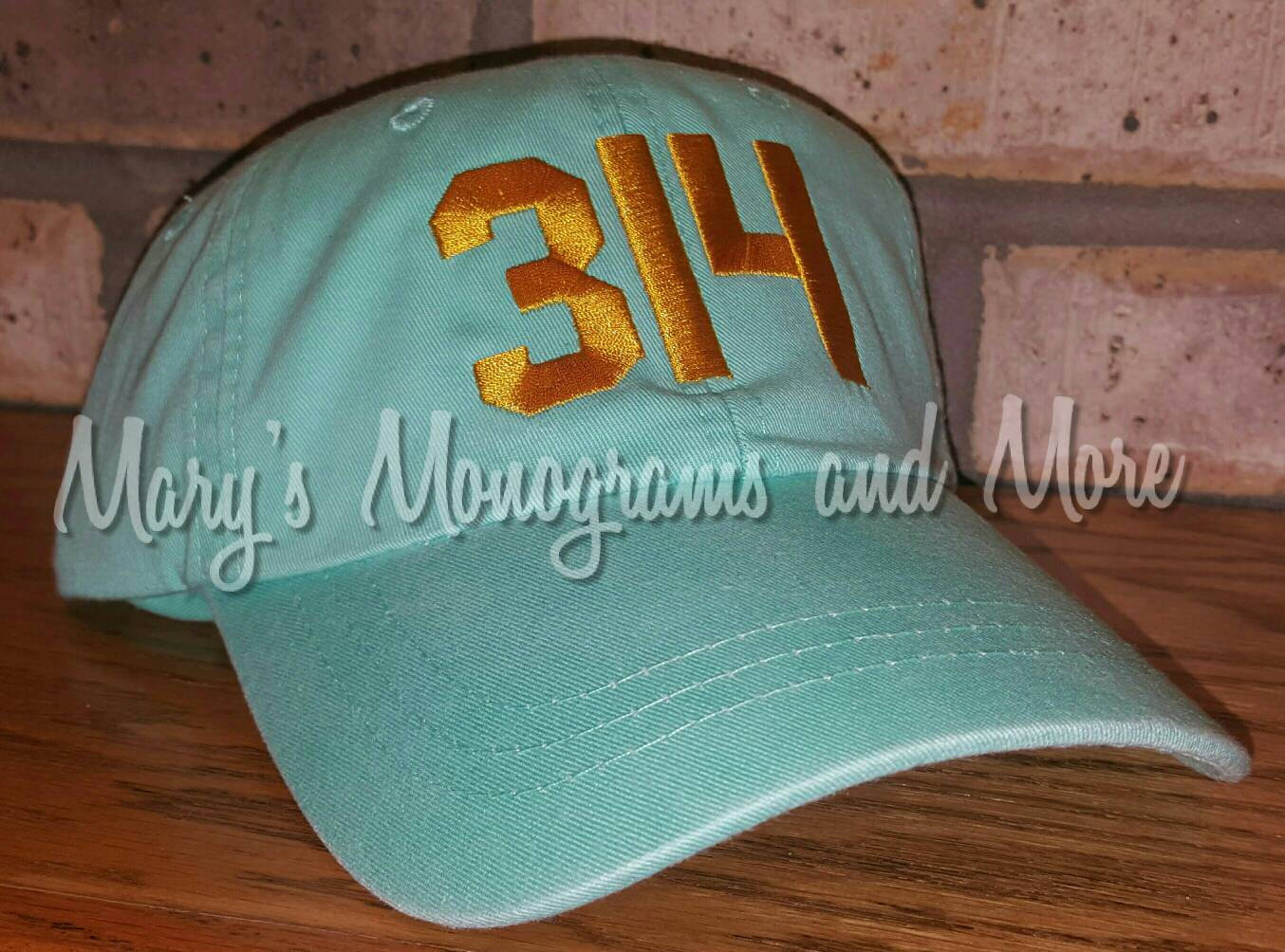 314 Area Code Baseball Hat
