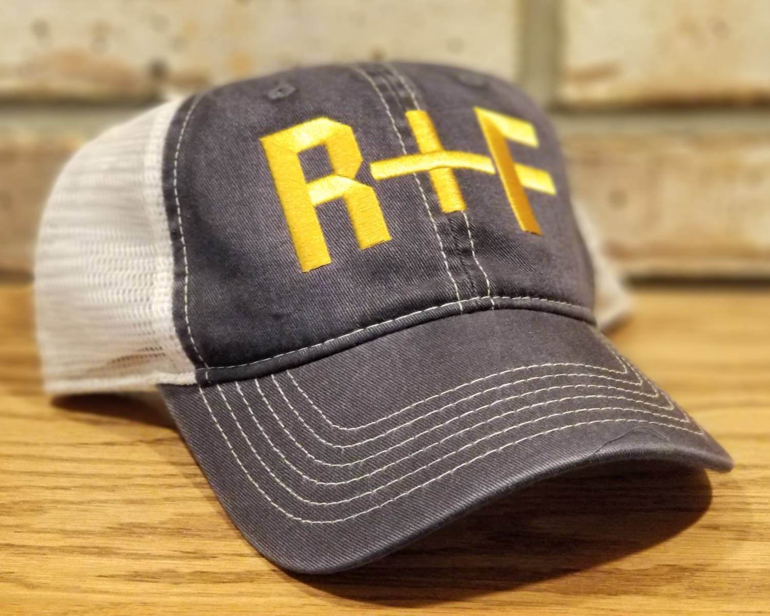 Free Shipping-Rodan + Fields Hat - R+F Embroidered Trucker or Baseball Hat, Personalized Rodan + Fields, Boss Lady, Skincare Consultants Hat