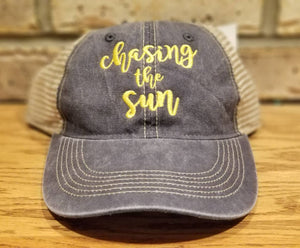 """Chasing The Sun"" Hat"