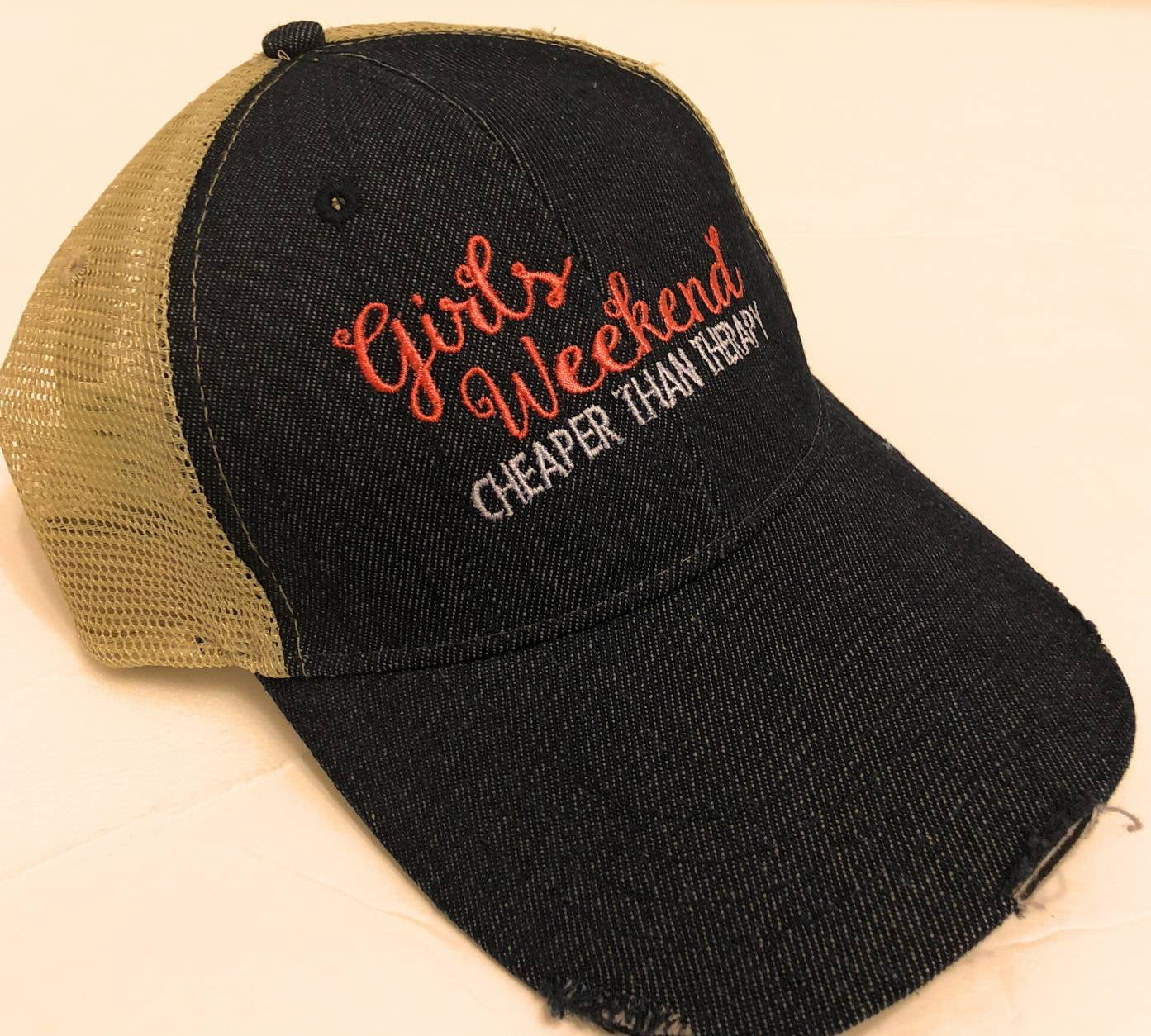 Girls Weekend - Cheaper Than Therapy Hat