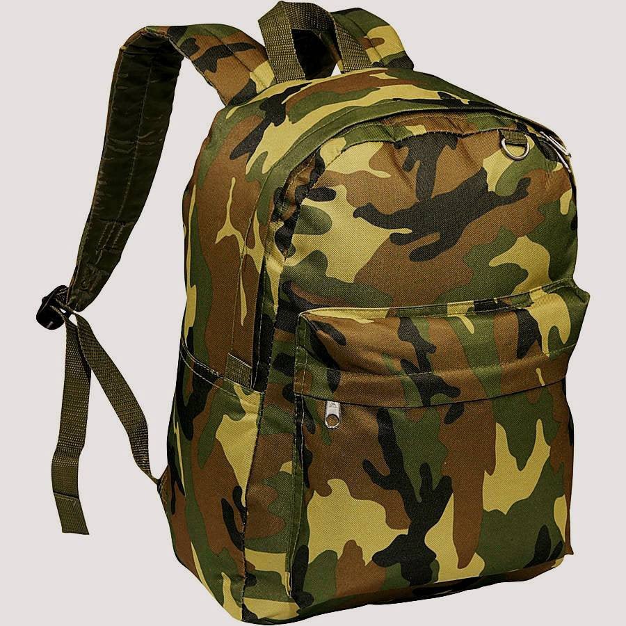 Monogrammed Camo Backpack, Embroidered Camouflage Bookbags, Personalized Book Bag, Monogram Back Pack, Back To School, Jungle Camo