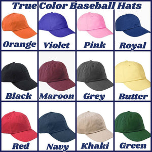 Any City Airport Code True Color Baseball Hat
