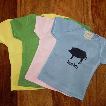 Bacon Baby Pig Logo T-shirt