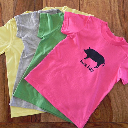 Kids Pig Logo T-Shirt