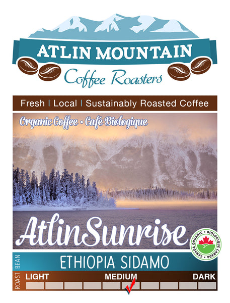 Ethiopia Sidamo, Medium Roast - atlin-mountain-coffee