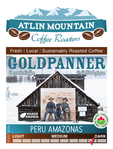Peru Norte, Dark roast - atlin-mountain-coffee