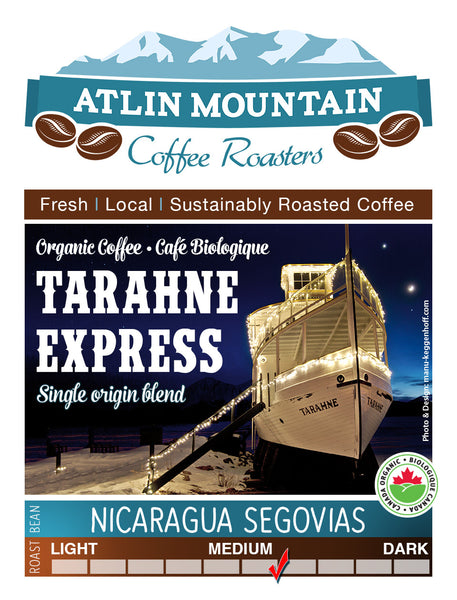 Nicaragua Segovia, Medium/Dark Blend - atlin-mountain-coffee