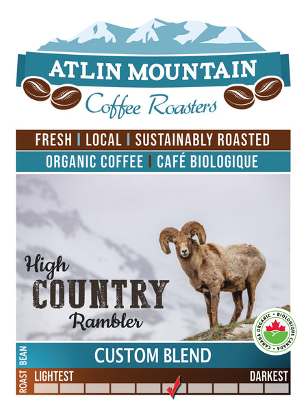 High Country Rambler - Rocky Mountain Bighorn blend - Fundraiser for BC Wild Sheep Society