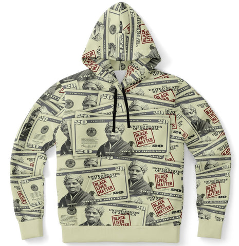 Harriet Tubman Twenty Dollar Bill - Hoodie
