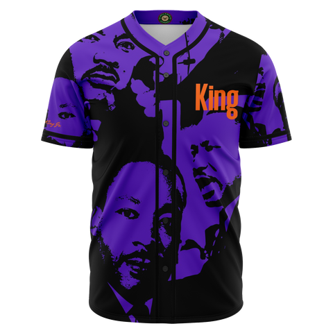 MARTIN LUTHER KING JR. BASEBALL JERSEY