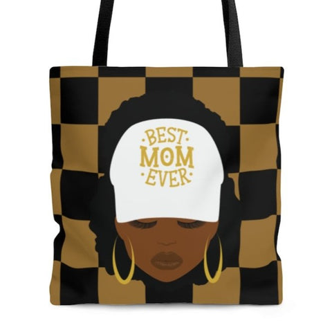 Best Mom Checker - Tote Bag