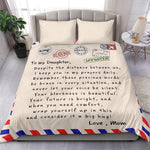 Post Card Blanket - Mom To Daughter
