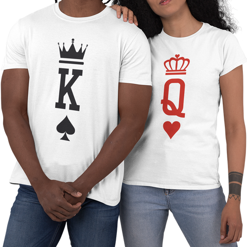 King and Queen - Playing Card