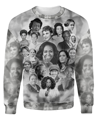 Allstar Ladies Of Black History - Sweatshirt