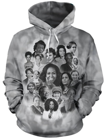 Allstar Ladies Of Black History - Hoodie