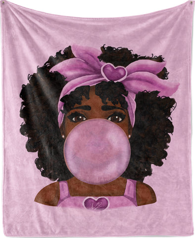 Bubble Gum Princess - Blanket