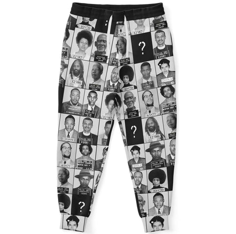 Black And Famous Mugshot - Joggers
