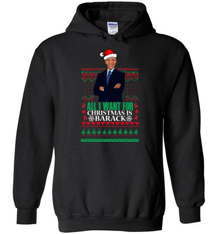 All I want For Christmas Is Barack - Melanin Apparel