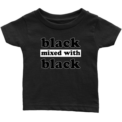 Black Mixed With Black - Melanin Apparel