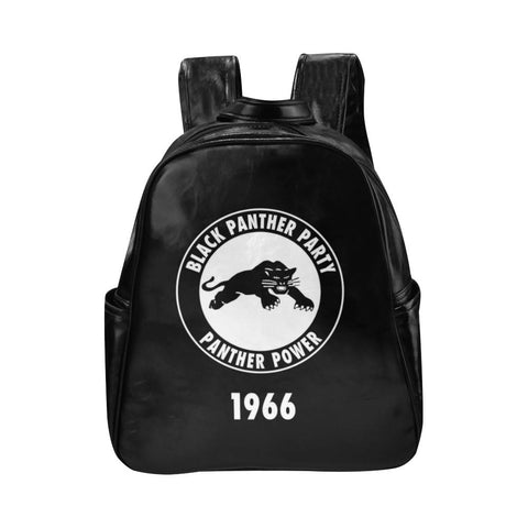 Black Panther Leather backpack - Melanin Apparel