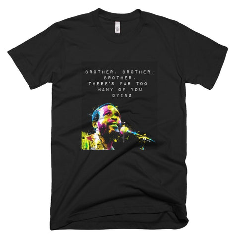 Brother Brother Brother Marvin Gaye Tee - Melanin Apparel