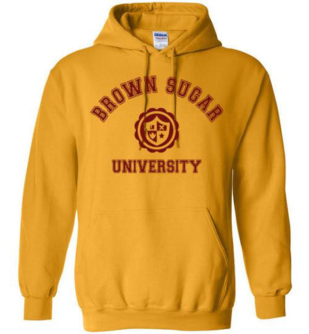 Brown Sugar University Hoodie - Melanin Apparel
