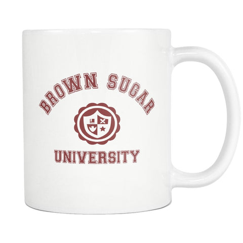 Brown Sugar University Mug - Melanin Apparel