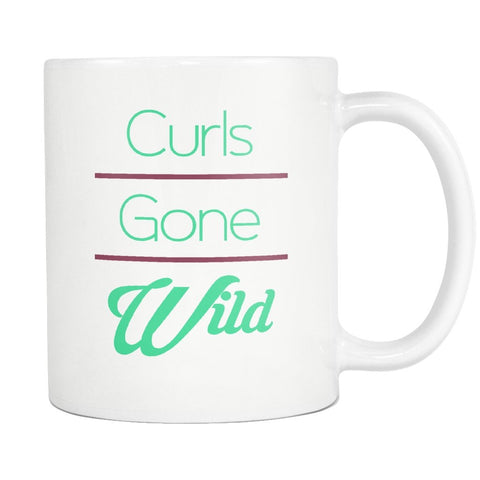 Curls Gone Wild Mug - Melanin Apparel