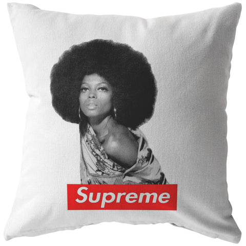 DIANA ROSS SUPREME Pillow - Melanin Apparel