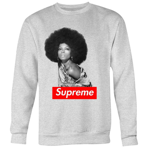 Diana Ross Supreme sweatshirt - Melanin Apparel