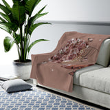 Brown Butterfly  - Blanket