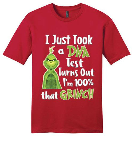 I Just Took A DNA Test I'm That Grinch - Melanin Apparel