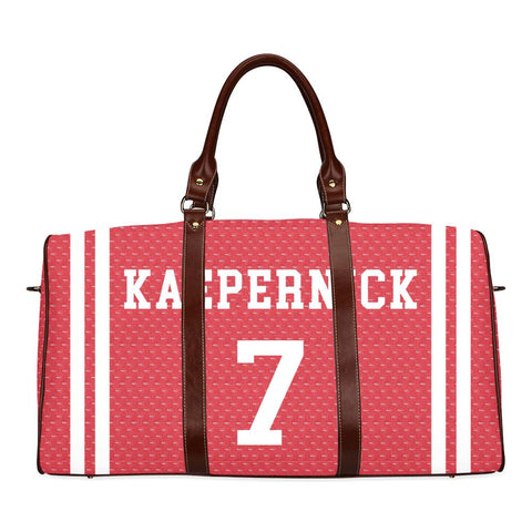 kaepernick Large Waterproof Travel Bag - Melanin Apparel