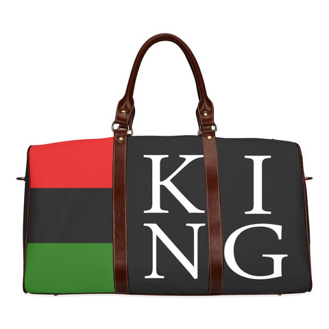 King Large Waterproof Travel Bag - Melanin Apparel