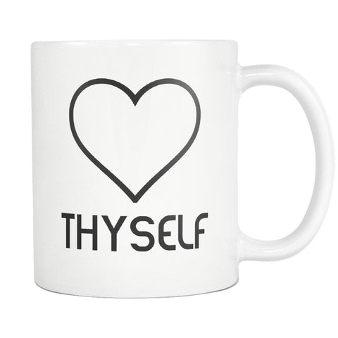 Love Thyself Mug - Melanin Apparel