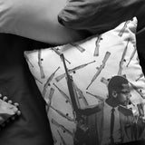 MALCOLM X PILLOW - Melanin Apparel