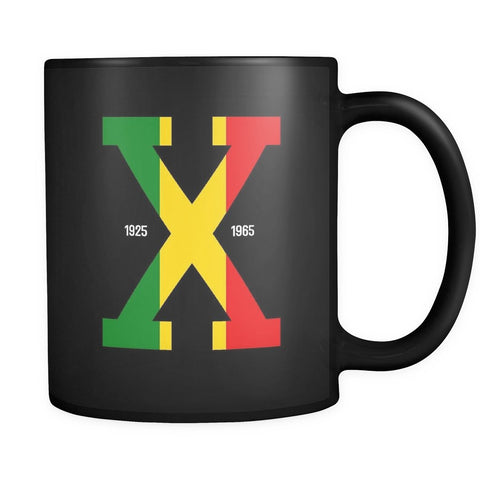 Malcolm X Tri-Color Mug - Melanin Apparel