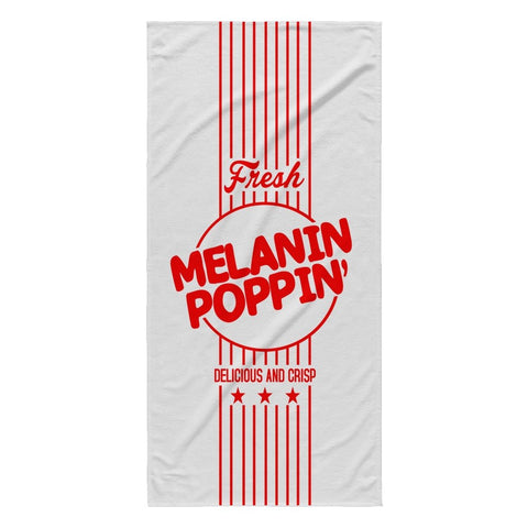 MELANIN POPPIN' BEACH TOWEL - Melanin Apparel