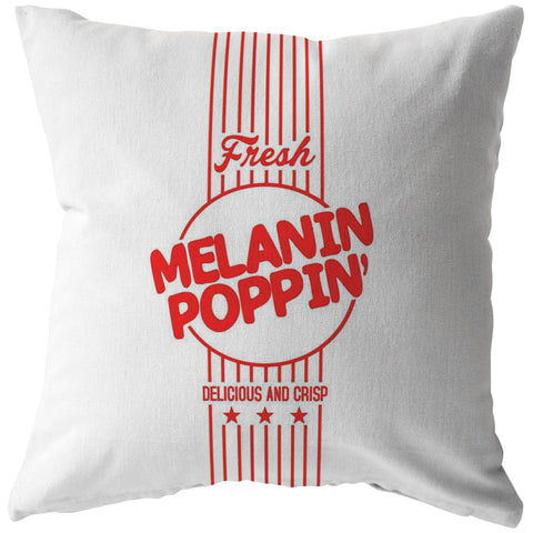 MELANIN POPPIN' Pillow - Melanin Apparel